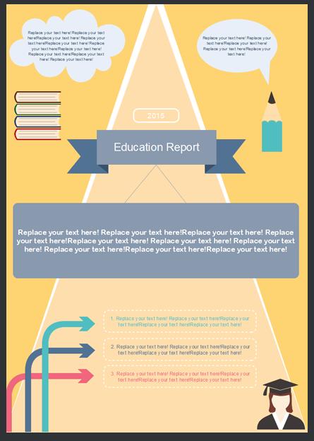 Modello Gratuito Infografica 2