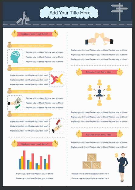 Modello Gratuito Infografica 5