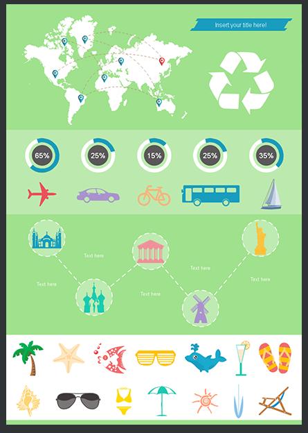 Modello Gratuito Infografica 6