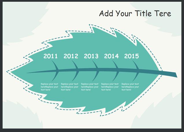 template timeline 2