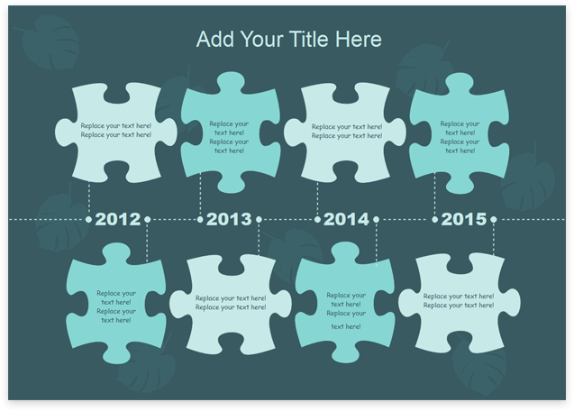 template timeline 4
