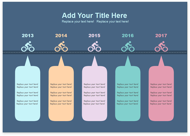 template timeline 5