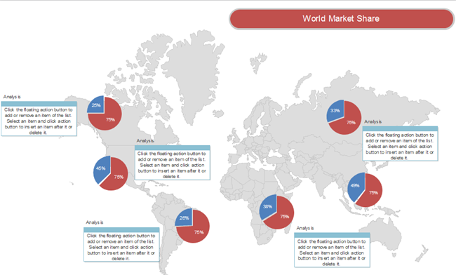 Market Report World Map