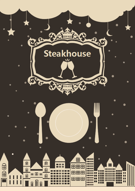 Steakhouse Leaflet