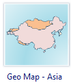 Geological map - Asia