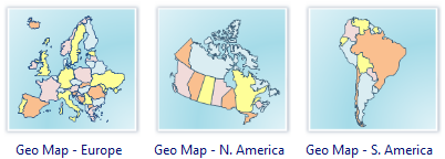 Geo Map Software - Europe, America