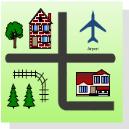 Mapa Direcional 2D