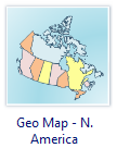 Geo Map - North America
