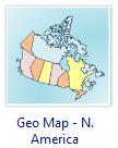 Geo Map - North America