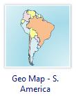 Amérique du Sud Carte