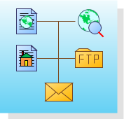 Web diagram software create conceptual website diagram and web use the web site map template to discover links and generate a site map for a web site on an http server network server or local hard drive ccuart Choice Image