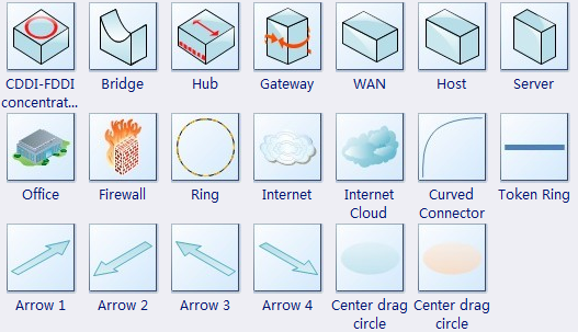 How To Draw 3d Network Diagram