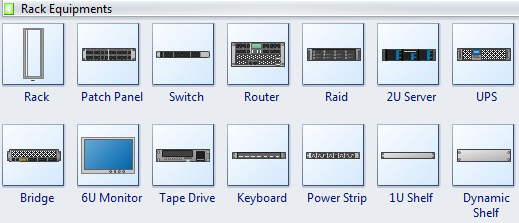 Symbols of Rack Equipment