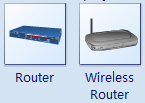 Real Router Symbols