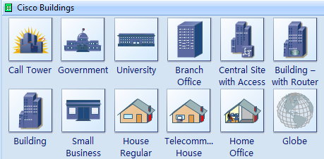 cisco building icons - Download Visio Templates