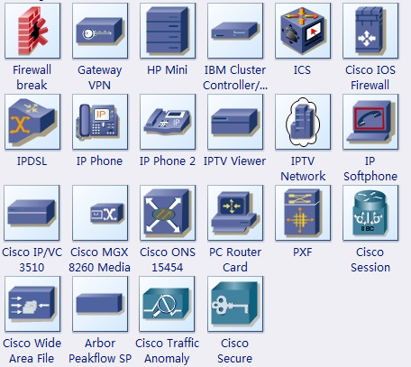 More Cisco Product Shapes