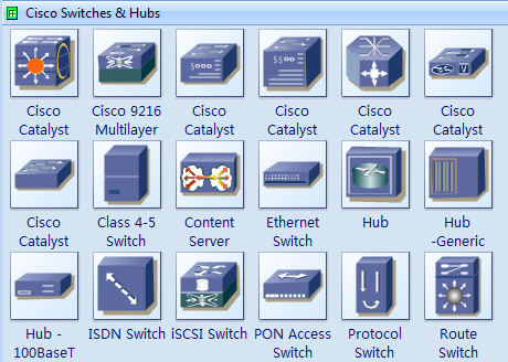 Cisco Miscellaneous Icons
