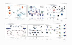 Exemples de diagramme de réseau