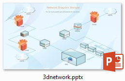 3d network diagram