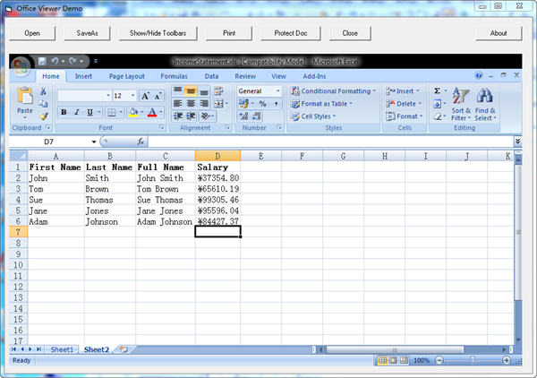 ... to run the project. The Excel automation will fill in the excel cells