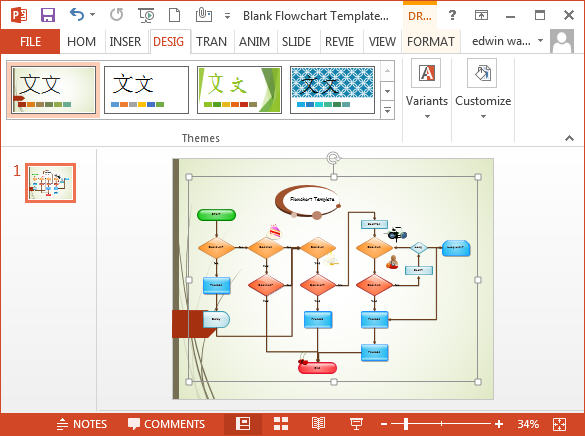 Flowcharts In Powerpoint