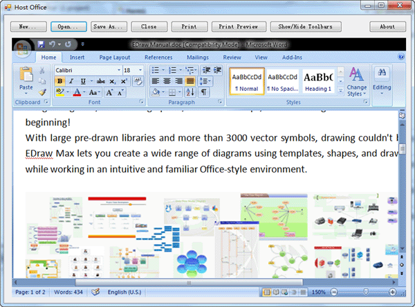 embed microsoft word in vbnet and automating word