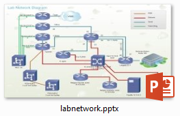 network diagrams in powerpoint, Modern powerpoint