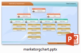 Organizational Chart In PowerPoint - Org chart template ppt