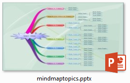 12 template powerpoint untuk mind map for Mind map template powerpoint free download
