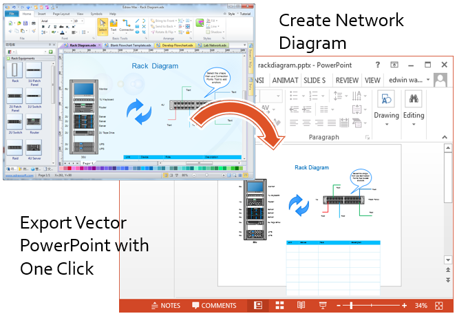 Network diagrams in powerpoint ccuart Choice Image