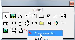 vb 6 adicionar componentes ...