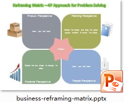 PowerPoint Reframing Matrix