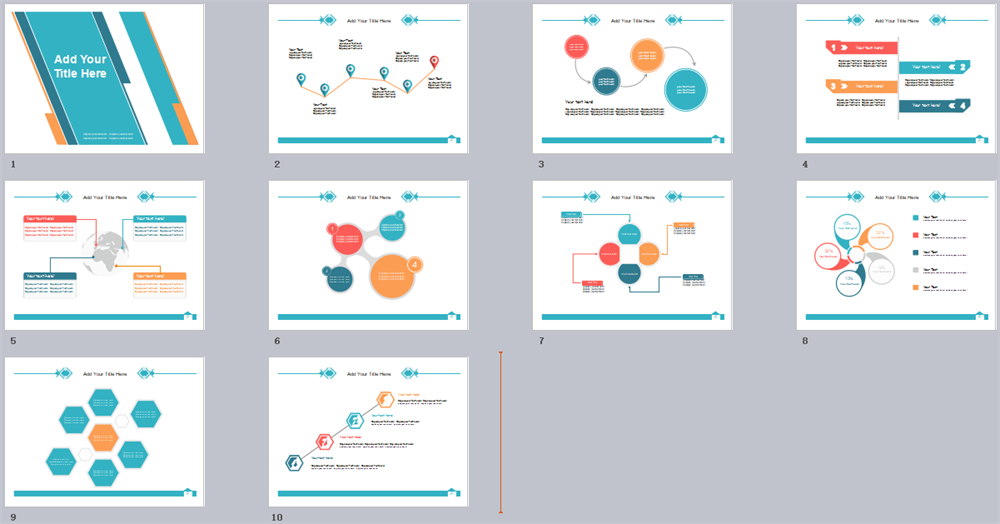 Business Process PowerPoint Design Template