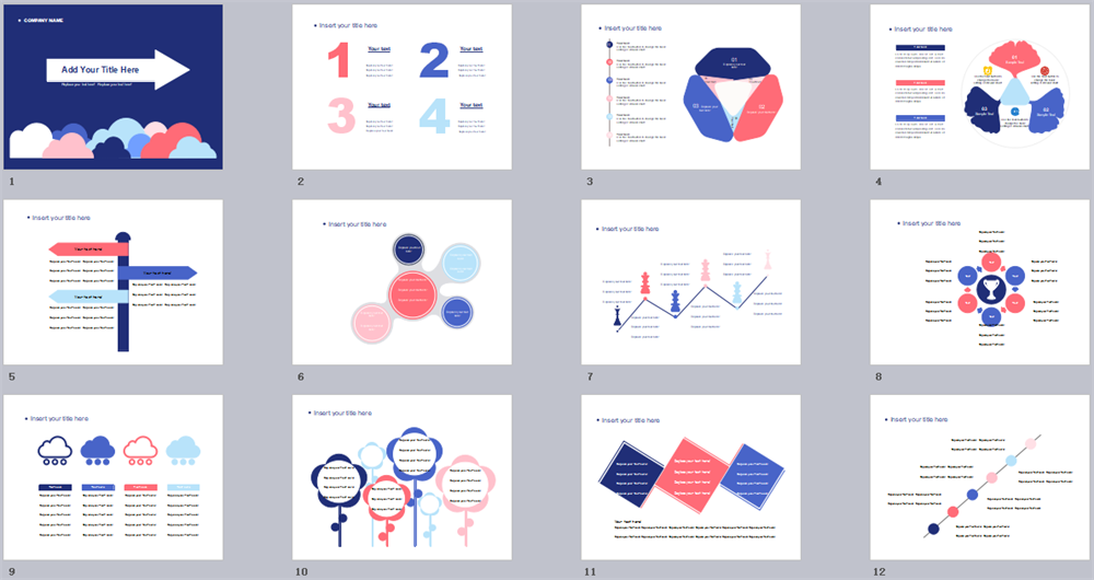 Modern Style PowerPoint Template