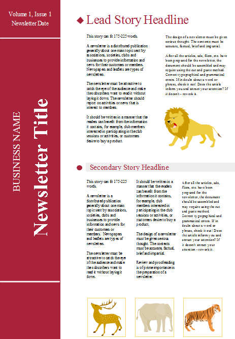 how to create a newsletter in weebly