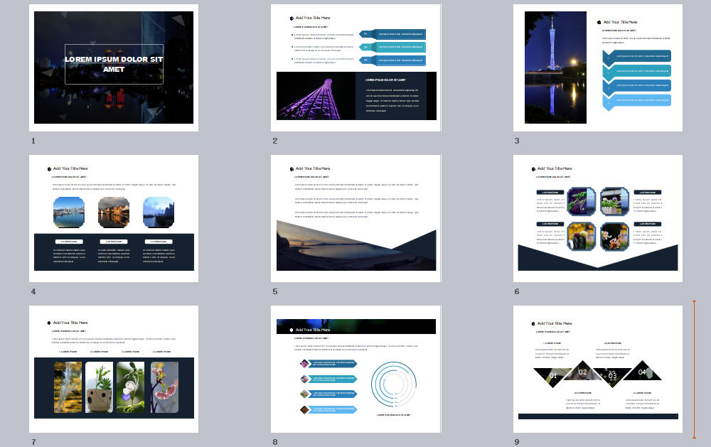Photo Business PowerPoint Template