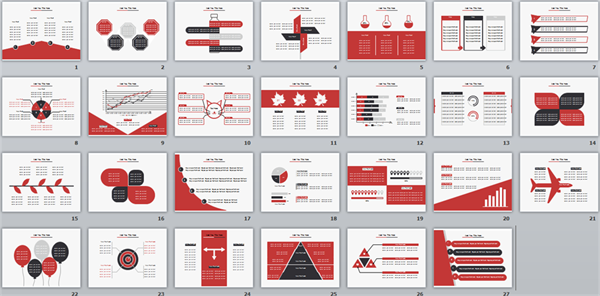 Red PPT Templates