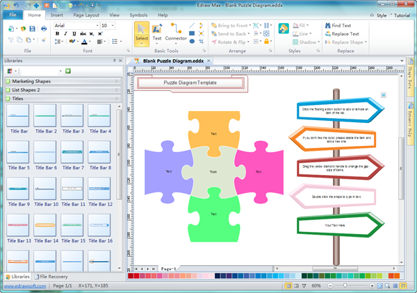 Puzzle Diagram Software