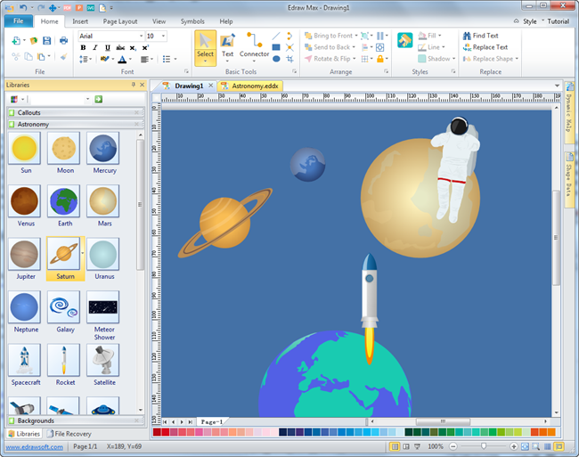 Astronomy Diagram Software
