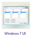 Windows 7 UI Design