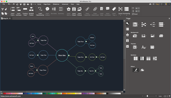 MindMaster Concept Map for Mac
