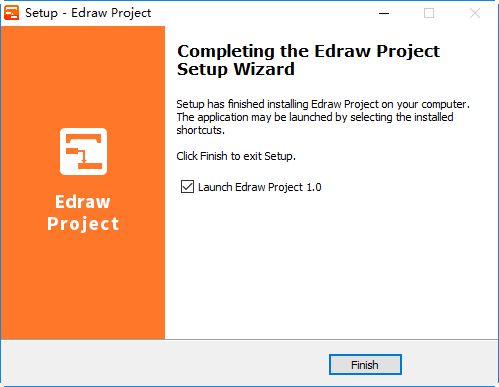Edraw Project setup