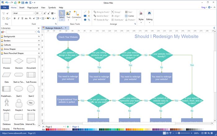 flowchart editor - Flow Chart Editor
