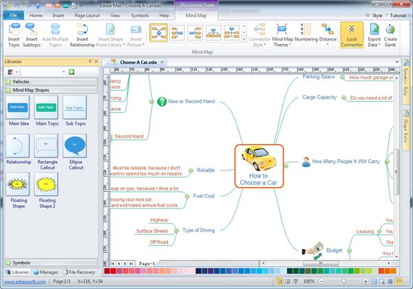 تحميل برنامج رسم الخرائط الذهنية بالعربي