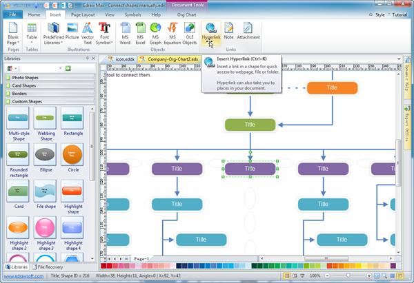 edraw organizational chart edraw org chart software