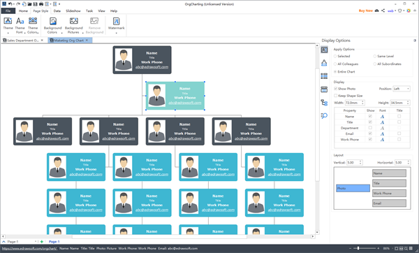 Org Chart With Photos