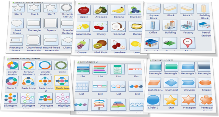 Shapes for Designing PowerPoint