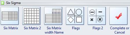 six sigma symbols