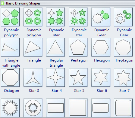 basic drawing shapes