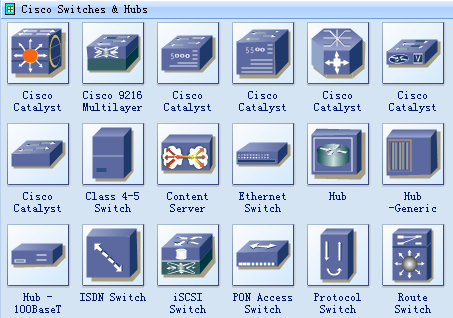 cisco network topology icons and cisco network topology software    cisco network icons   switches and hubs